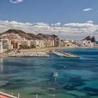 Hotel Playa Delicias en aguilas