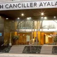 Hotel NH Canciller Ayala Vitoria en barrundia