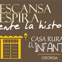 Hotel Casa Rural El Infante en calera-y-chozas