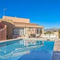 Hotel Beautiful villa with private pool & stunning view en callosa-d-en-sarria