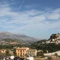 Hotel Hostal León Dormido en castell-de-guadalest