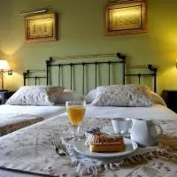 Hotel Hotel-Hospedería los Templarios en castro-de-fuentiduena