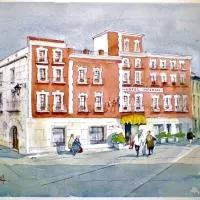 Hotel Zenit Imperial en castromembibre