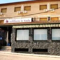 Hotel Hostal Monasterio de Rueda en cinco-olivas