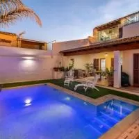 Hotel Consell Villa Sleeps 6 with Pool Air Con and WiFi en consell