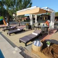 Hotel Hacienda con granja cerca del mar-celebraciones en fuente-alamo-de-murcia
