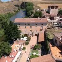 Hotel Molino Grande del Duratón en fuente-el-olmo-de-fuentiduena