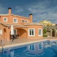 Hotel Luxury Villa with Private Pool in Moraira en gata-de-gorgos