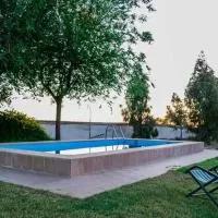 Hotel Casa Rural Cortijo Rubiales en higuera-de-llerena