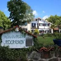 Hotel Agroturismo Atxarmin en leintz-gatzaga