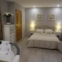 Hotel Apartamento Usuaia con jacuzzi en lesaka