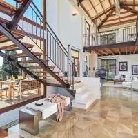 Hotel Villa Sa Planera with big Pool and breathtaking views of the landscape! en marratxi