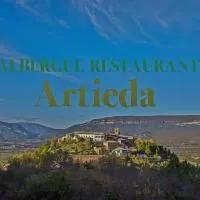 Hotel Albergue Restaurante de Artieda en mianos