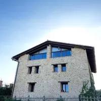 Hotel Masia de la Serra de la Cogulla en monroyo