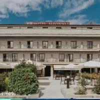 Hotel Alfonso I en pazos-de-borben
