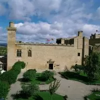 Hotel Parador de Olite en pitillas