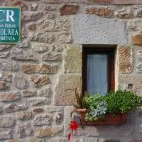 Hotel Casa Rural Eikolara Landetxea en salvatierra-agurain