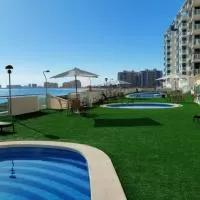 Hotel Apartments La Manga - first line en san-javier