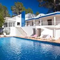 Hotel VILLA CAN HERMANOS: Wifi gratis, piscina privada y vistas al mar en sant-josep-de-sa-talaia