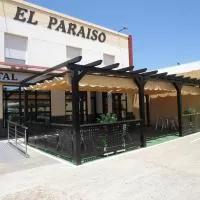 Hotel Hostal Restaurante el Paraíso en santa-amalia