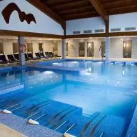 Hotel Balneario de Ledesma en santa-maria-de-sando