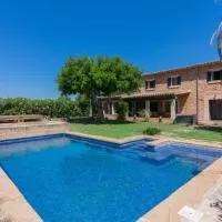 Hotel Preciosa casa con piscina a 1 Km de Santa Maria del cami en santa-maria-del-cami