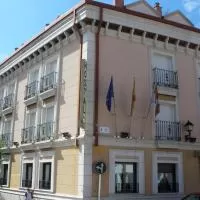Hotel Hostal Virgen del Villar en viana-de-cega