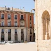 Hotel Tirso de Molina en viana-de-duero