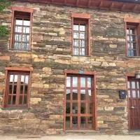 Hotel Casa de piedra en Muga de Alba en videmala