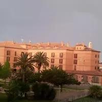 Hotel Parador de Calahorra en villafranca
