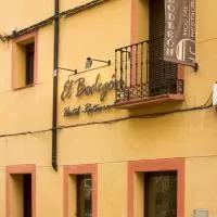 Hotel Hostal El Bodegon en villarroya-de-la-sierra