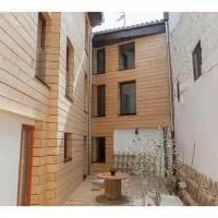 Hotel Charming Villa in Ibero with Heating en zabalza