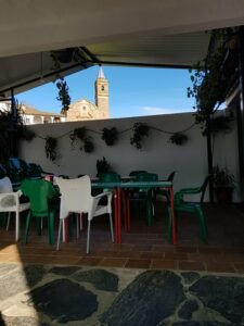 Un buen hotel en Valdelarco, Huelva