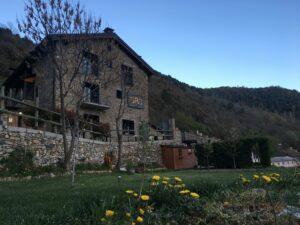 Un buen hotel en Les Valls…