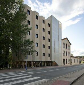 Un buen hotel en Tirapu, Navarra